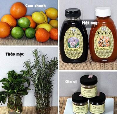5 cách ngâm chanh mật ong trị ho mùa đông 2