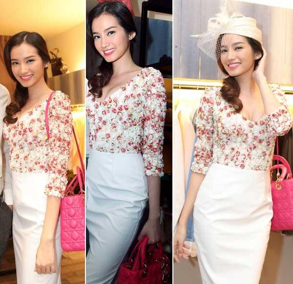 Phong cách thời trang đẹp mỹ miều của Trúc Diễm 3