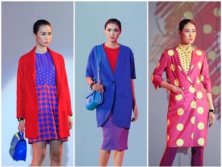 Mỹ nhân Việt đua nhau diện mốt áo măng tô sắc màu 26