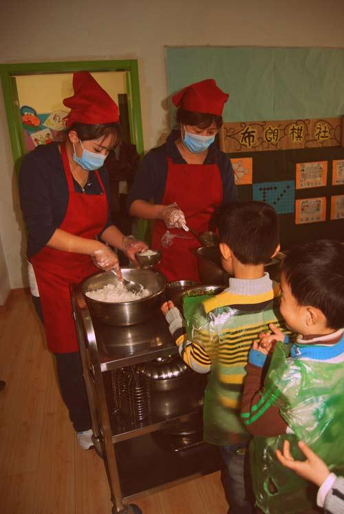 Một ngày tại mẫu giáo ở Bắc Kinh 11