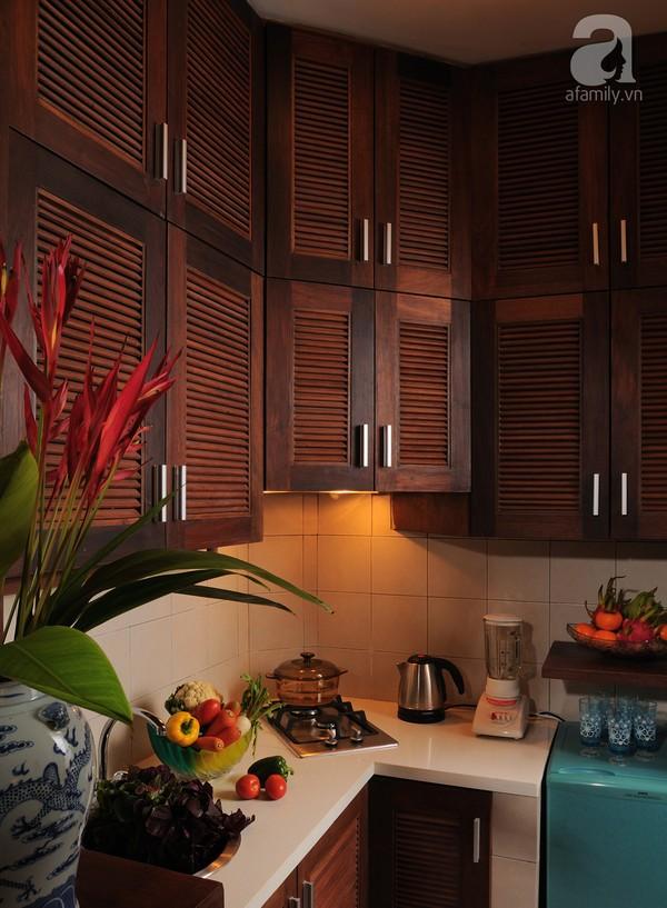 Ngắm căn hộ 22m² sử dụng đồ gỗ tái chế cực chất tại Phú Nhuận 10