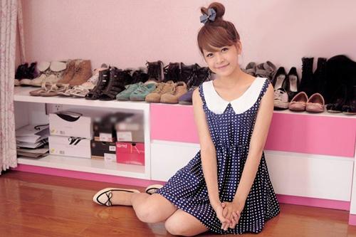 Phòng hồng cực điệu của hotgirl Chi Pu 5
