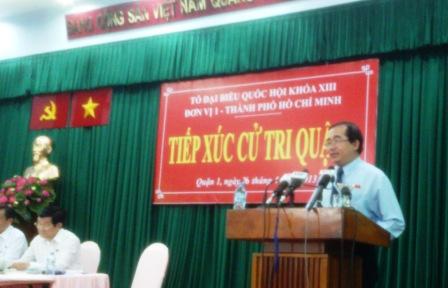 """ĐBQH Hoàng Hữu Phước lại bị lên án vì bài viết """"Tứ đại ngu"""" 2"""