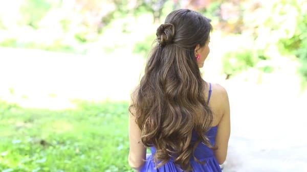Tự thực hiện 3 kiểu tóc dịu dàng cho mùa thu 10