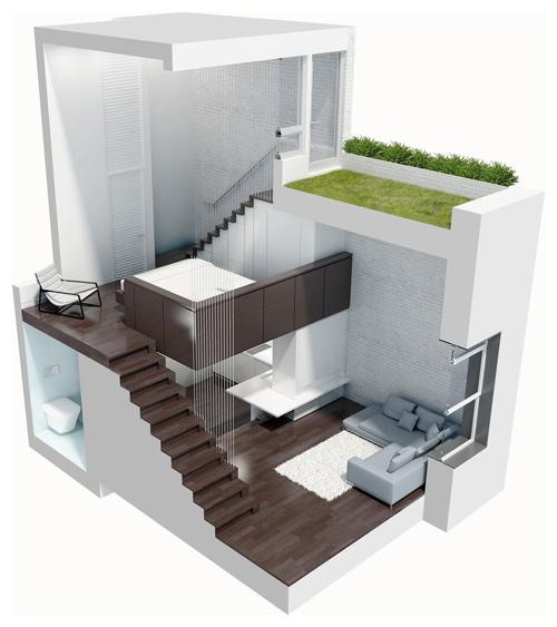 """Ngắm nhà 38m² """"nuột nà"""" từng góc 10"""