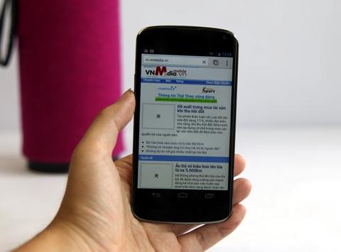Nexus 4 màu trắng về Việt Nam giá 9,8 triệu đồng 2