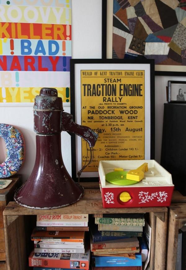 Ngắm căn hộ vintage đẹp như mơ nhờ tận dụng đồ cũ 9