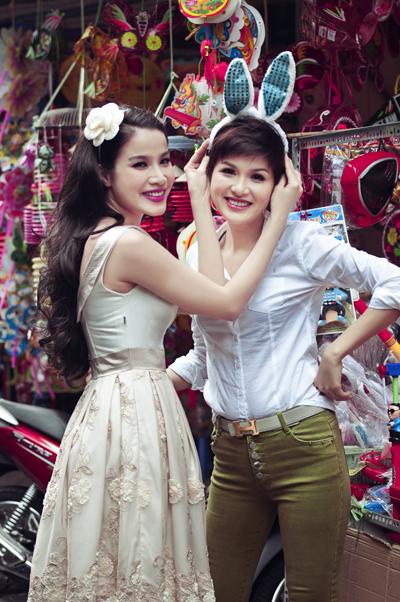 Hai single mom Bảo Trúc, Oanh Yến đọ sắc 3