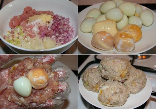 Cách làm bánh bao trứng vịt muối 1