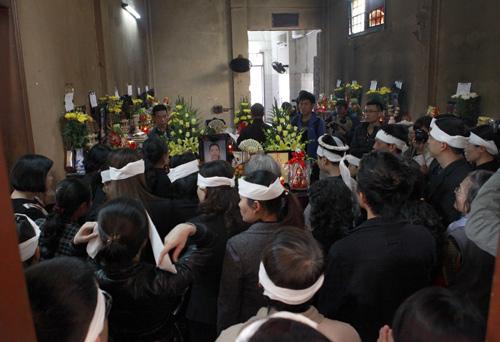 Đám tang không thi thể của nạn nhân vụ Cát Tường 1