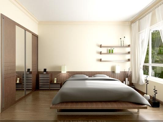 Nguyên tắc bài trí giường ngủ theo mệnh 1