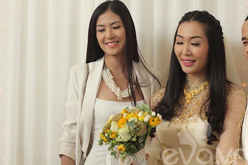 Ngắm hoàng tử bé trong đám cưới Á hậu Thùy Trang 12