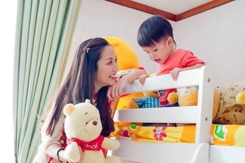 Khám phá phòng riêng của 'công chúa - hoàng tử' nhà sao Việt 24