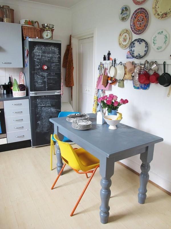 Ngắm căn hộ vintage đẹp như mơ nhờ tận dụng đồ cũ 16