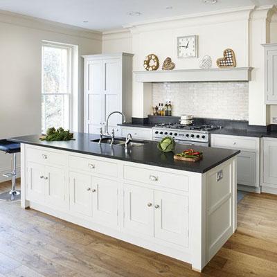 Nhà bếp trang nhã với sắc màu kem 6