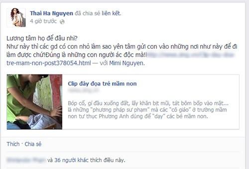 Sao Việt phẫn nộ vụ bảo mẫu bạo hành trẻ 8