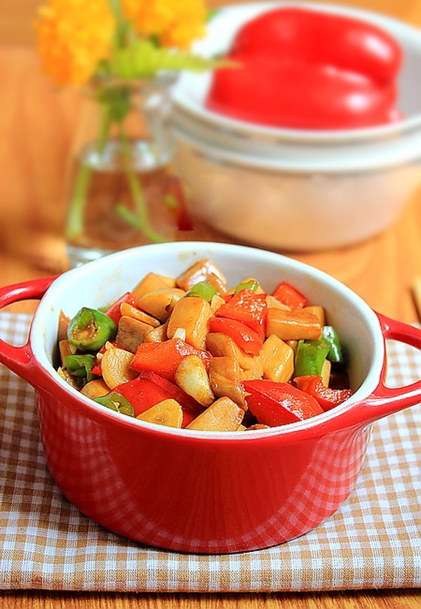 2 món xào ngon đầy màu sắc cho bữa chiều 5