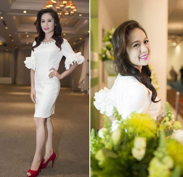 Kiều nữ Việt đẹp mong manh váy trắng 8