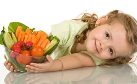 Dạy trẻ thói quen ăn uống lành mạnh 1