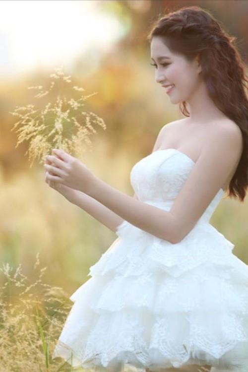 Những kiểu tóc nhìn là yêu của hoa hậu Thu Thảo 14