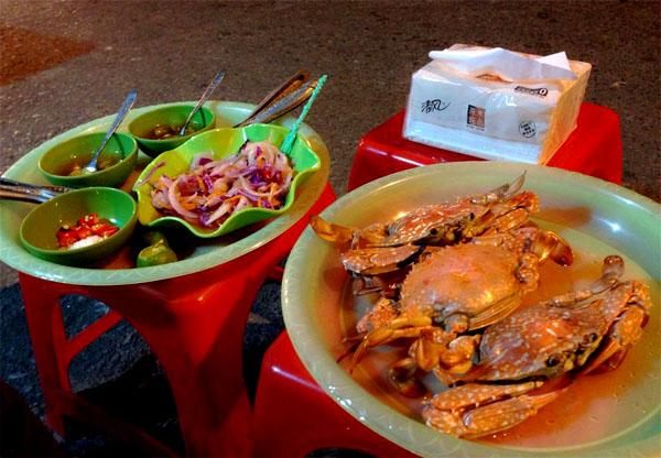 Đi ăn cua, ghẹ gánh vừa ngon vừa rẻ phố Hàng Giầy 3