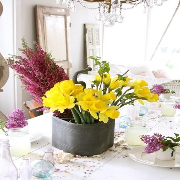 Chọn hoa phù hợp với từng không gian trong nhà 3