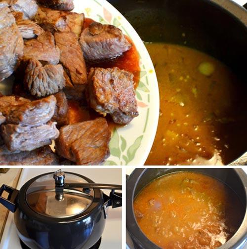 Thịt bò hầm nước cốt dừa 7