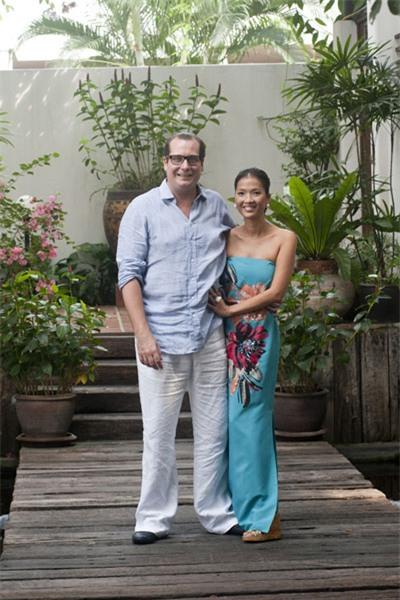 Bằng Lăng hạnh phúc bên chồng con ở Thái Lan 1