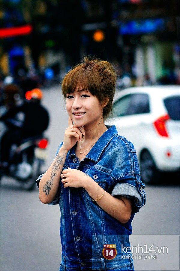 Những hot girl Hà Thành nghiện xăm hình nhất 1