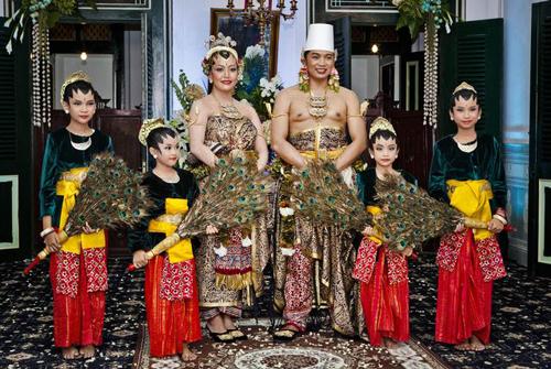 Đám cưới lộng lẫy của công chúa Indonesia 6