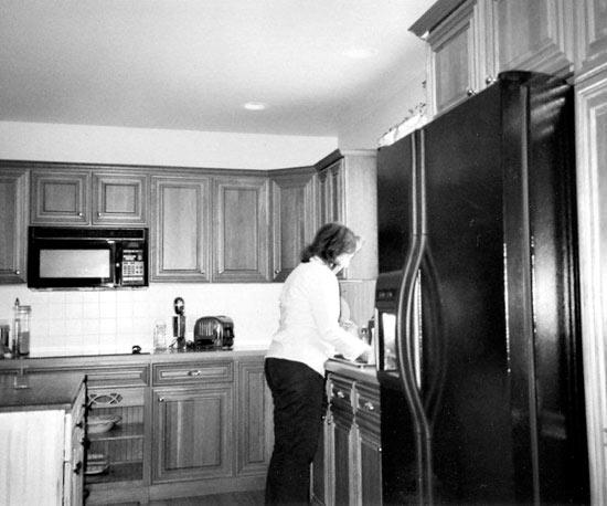 Ngắm phòng bếp cũ trở nên rạng ngời sau trang hoàng 5