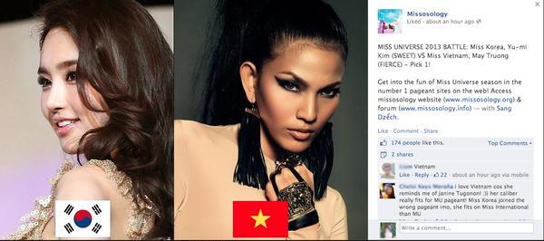 Nhan sắc thật của Hoa hậu Hàn được so sánh với Trương Thị May 1
