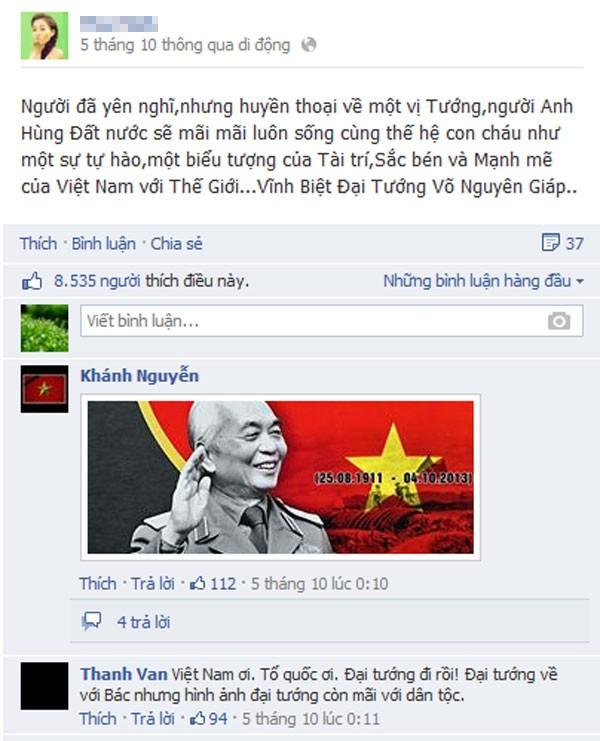Nghệ sĩ Việt cảm động chia sẻ ảnh và kỷ niệm bên Đại tướng 12
