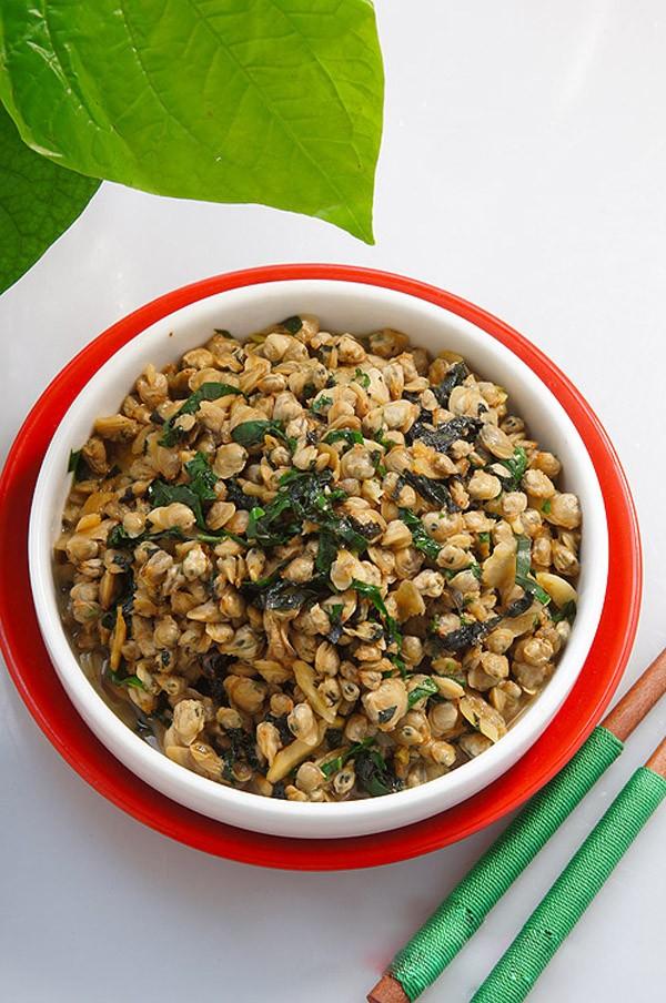 Hến xào lá lốt giản dị ngon cơm 5