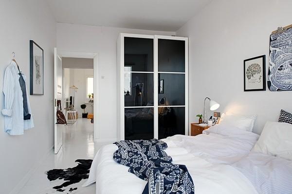 Ghé căn hộ 41m² trắng sáng mà không đơn điệu 13
