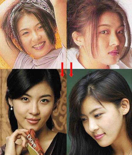 Khuôn mặt mỹ nhân Hàn biến đổi so với thời thiếu nữ 6