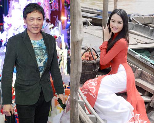 """Những cô vợ """"Hoa hậu"""" nổi tiếng của sao nam Việt 1"""