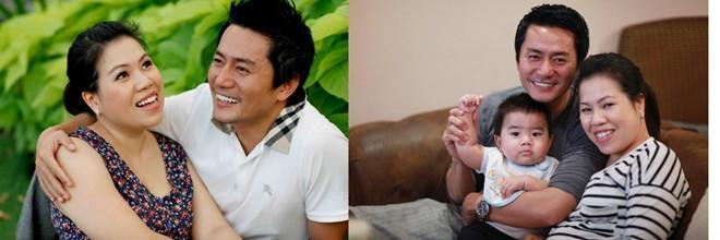 """Những cặp vợ chồng """"khập khiễng"""" về ngoại hình trong showbiz Việt 11"""