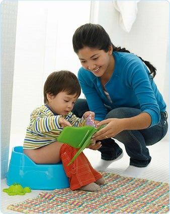 Bài học từ việc dạy bé đi bô 1