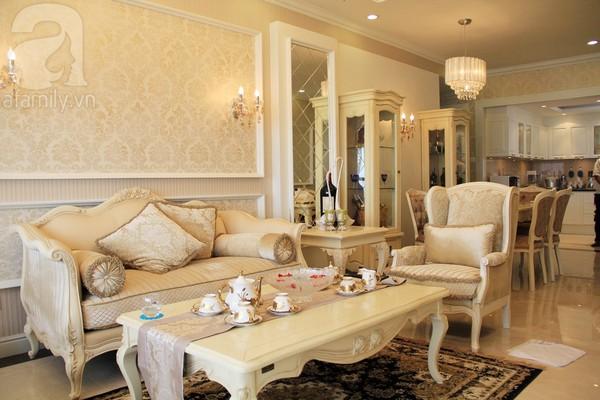 Mê mẩn căn hộ mang phong cách hoàng gia ở Sài Gòn 1
