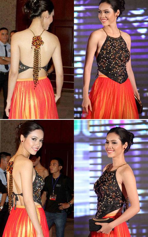 Tận mắt so sánh nhan sắc mỹ nhân Việt cùng diện áo yếm 10