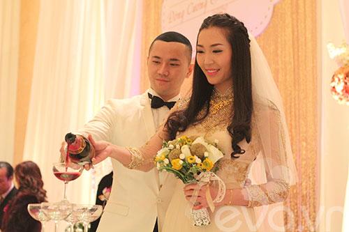 Cận cảnh đám cưới cổ tích của Á hậu Thùy Trang 7