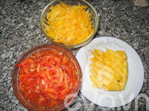 Bún cuộn thịt heo, tôm chua nhanh gọn 1
