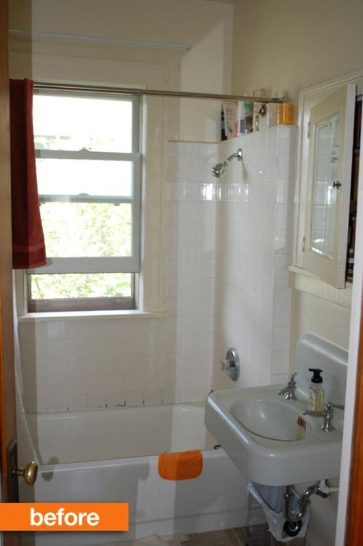Ngắm hai phòng tắm được cải tạo cực đẹp với 1 triệu đồng 1