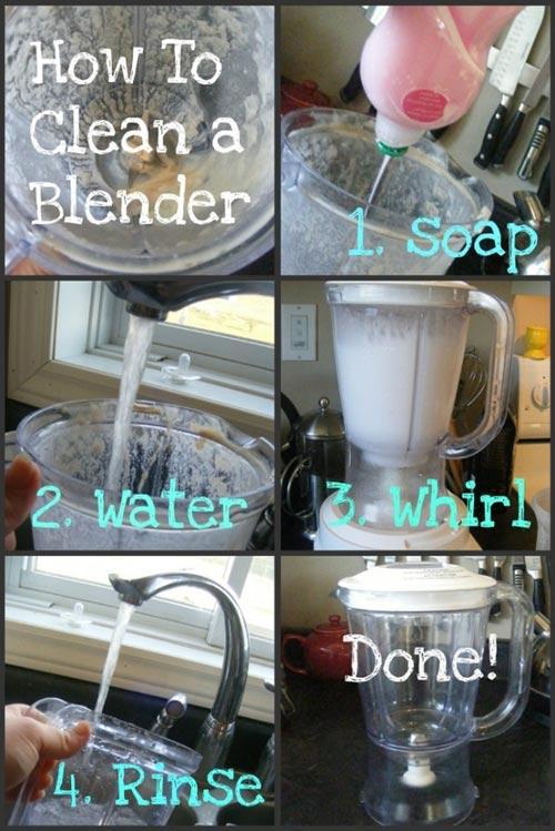 10 mẹo tuyệt vời cho phòng bếp luôn sạch bóng 8