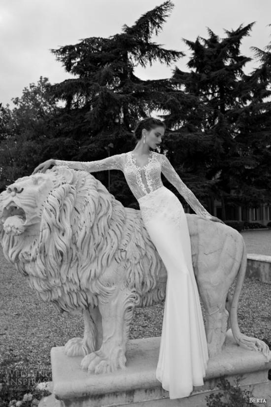 Những mẫu váy cưới dài tay đẹp đến khó tin 10
