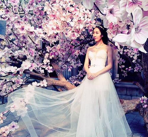 Hé lộ ảnh cưới tuyệt đẹp của Á hậu Thùy Trang 6
