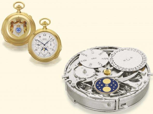 Đồng hồ cổ triệu đô đẹp lung linh 8