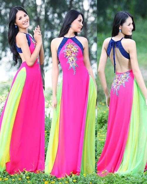 Tận mắt so sánh nhan sắc mỹ nhân Việt cùng diện áo yếm 7