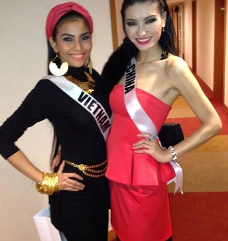 Trương Thị May bị cảm lạnh và sốt cao tại Miss Universe 12